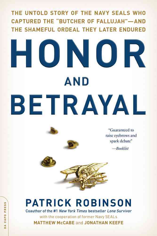 Honor and Betrayal By Robinson, Patrick